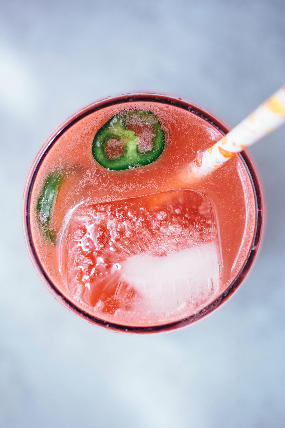 Spicy Watermelon Soda