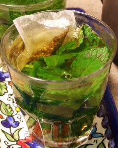 Tea - Nana (Mint) with Tea Bag Added