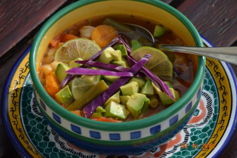 Mexican-style Veggie Soup