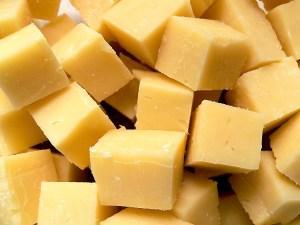 Cubes de fromage