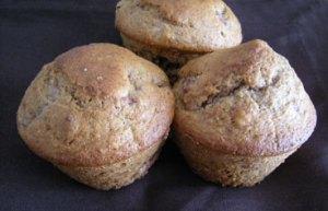 Muffins fraises et noix 2