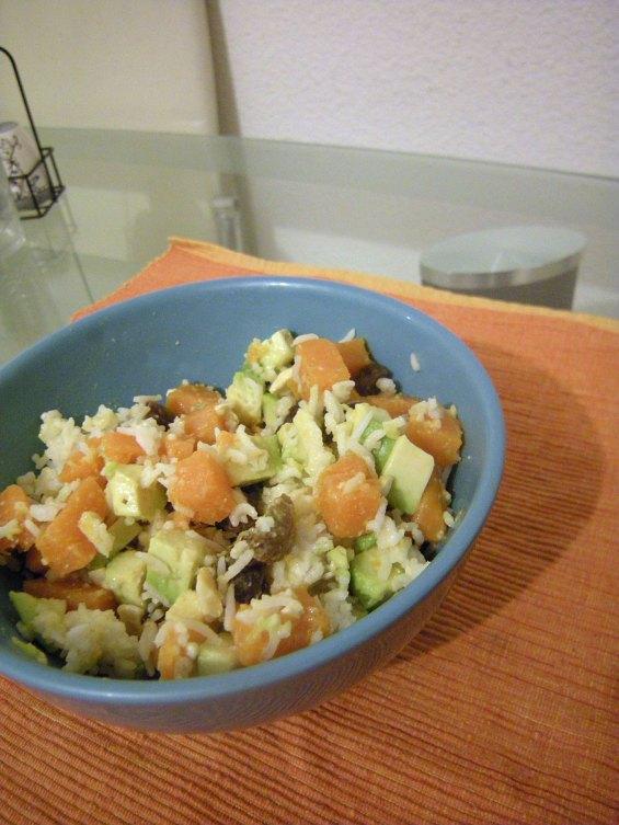 Salade de riz d'hiver