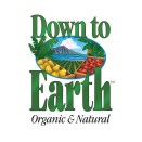 down to earth organic and natural logo
