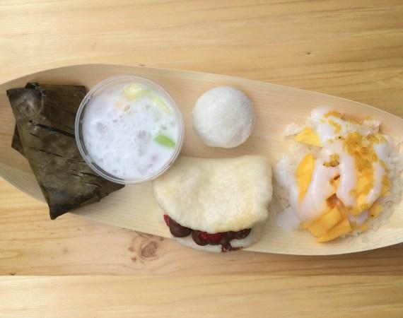 Street Food Desserts aus Asien