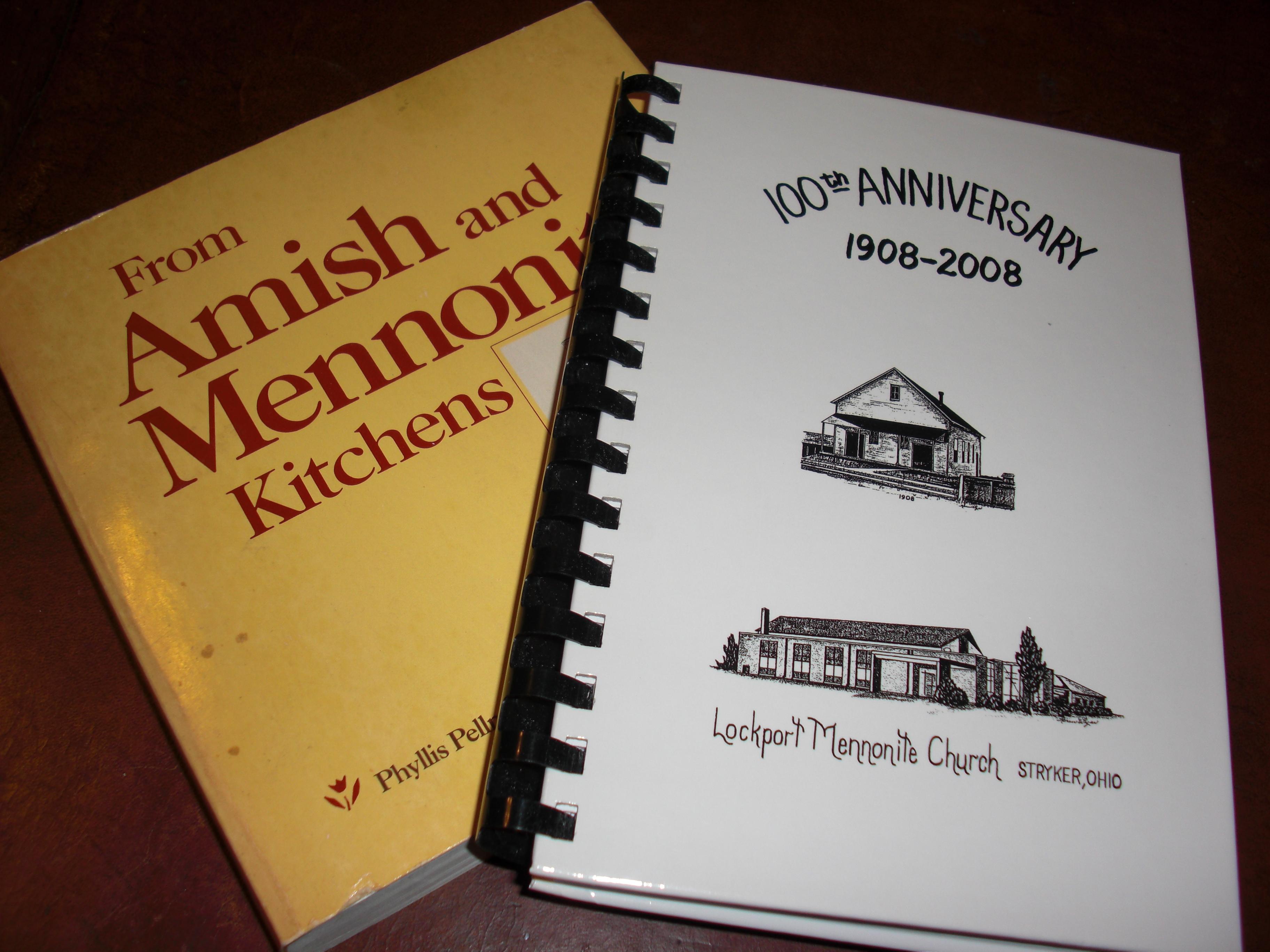 Amish/Mennonite Cookbooks