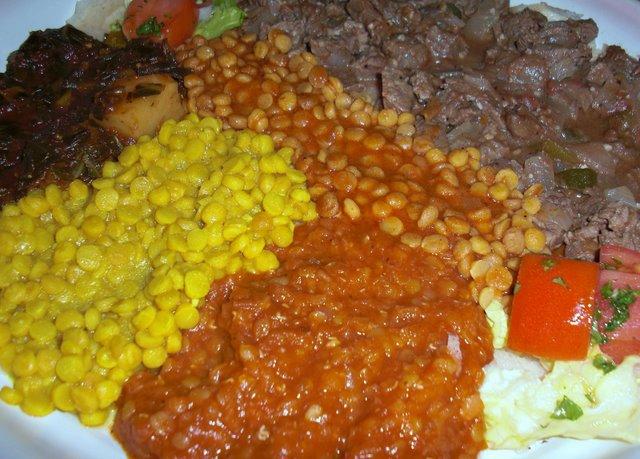 Dhalak Vegetarian Platter