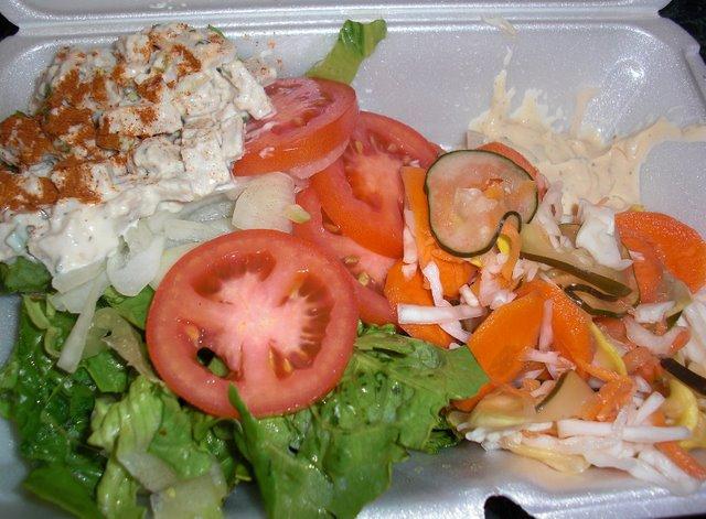 Health Salad from Basic 4