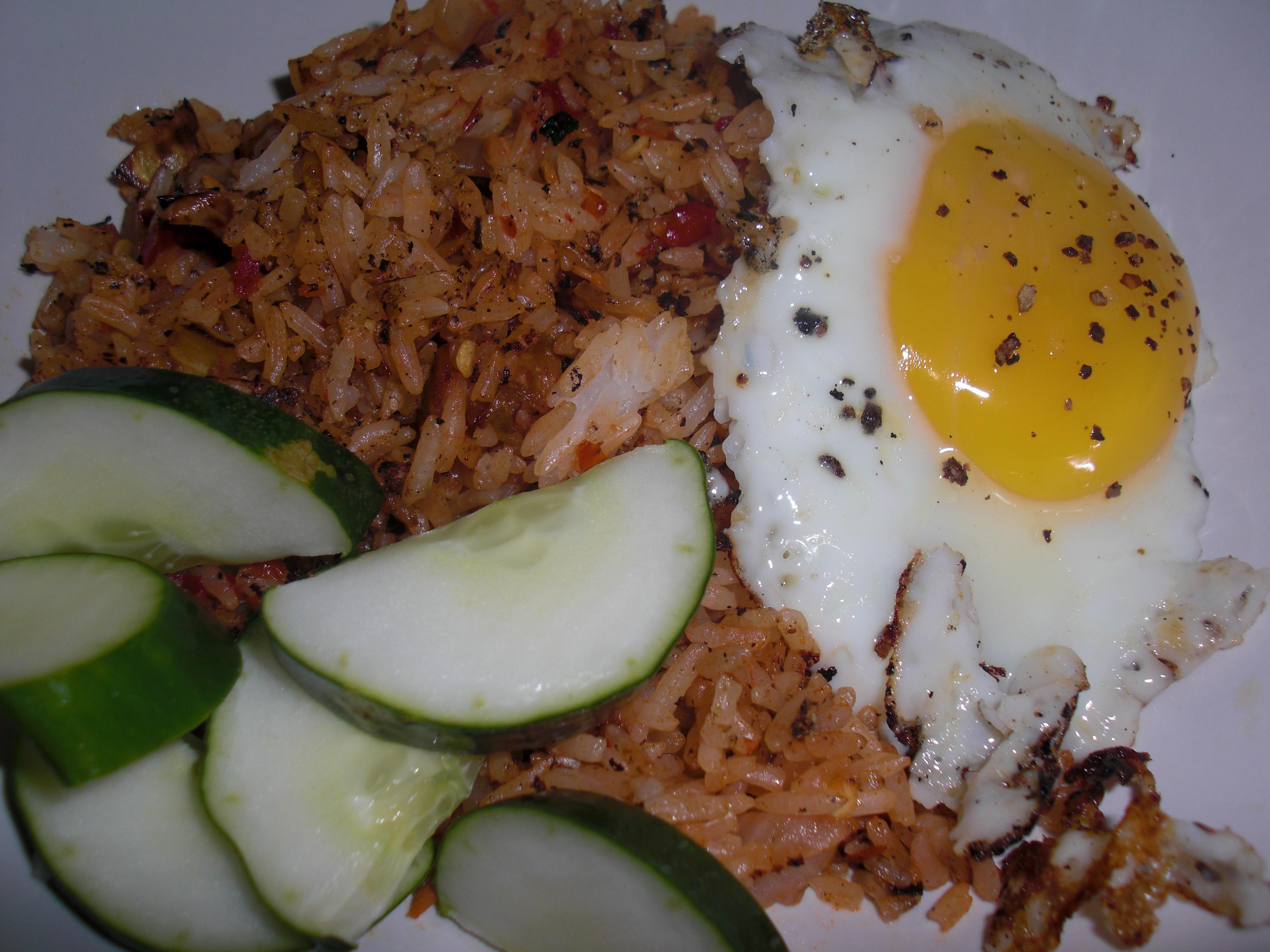 Indonesian Fried Rice Breakfast