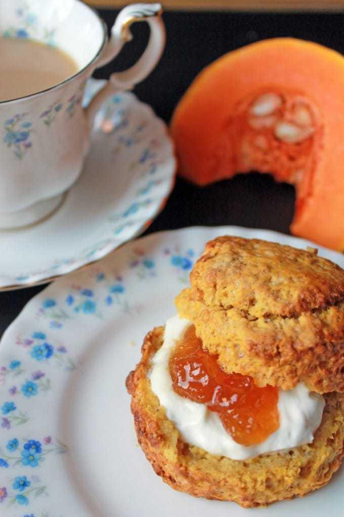 Pumpkin Scones   Veggie Desserts Blog
