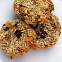 Avocado, Banana, Carrot and Oatmeal Cookies