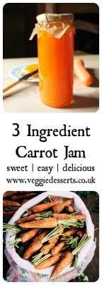 Carrot Jam Recipe   Veggie Desserts Blog