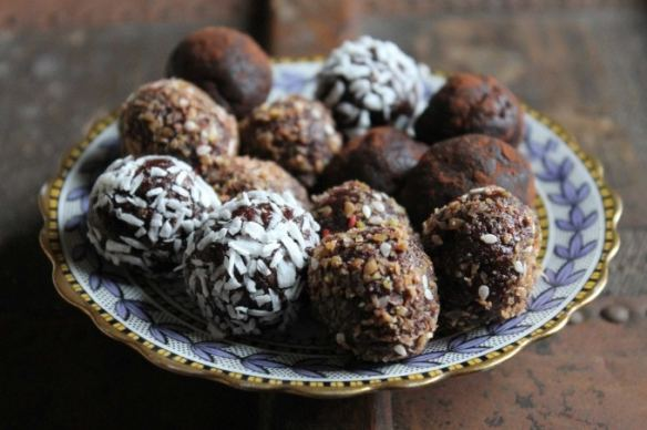 Beetroot Chocolate Protein Balls