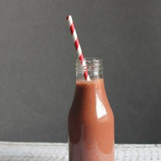 Beetroot Chocolate Shake