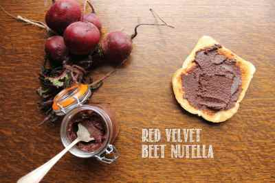 Beet Nutella recipe on Veggie Desserts