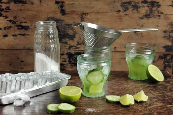 Cucumber Caipirinha Cocktail | Veggie Desserts
