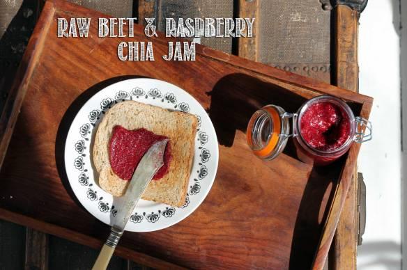 Beet Raspberry Chia Jam | Veggie Desserts
