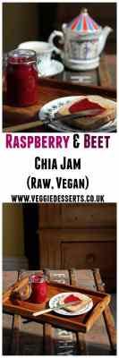 Raspberry and Beet Chia Jam   Raw, Vegan   Veggie Desserts Blog