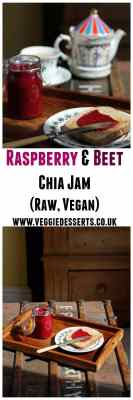 Raspberry and Beet Chia Jam | Raw, Vegan | Veggie Desserts Blog