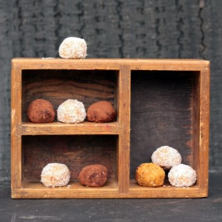 Sweet Potato and Fresh Ginger Protein Balls | Veggie Desserts