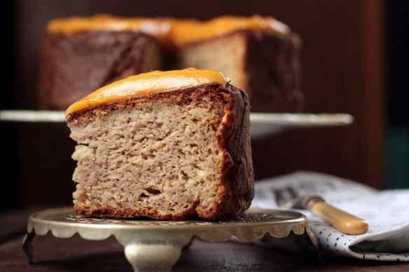 Parsnip Nutmeg Cake with Sweet Potato and Ginger Frosting | Veggie Desserts Blog