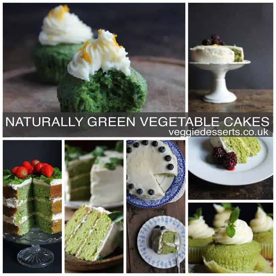 Naturally Green Cakes for St Patrick's Day