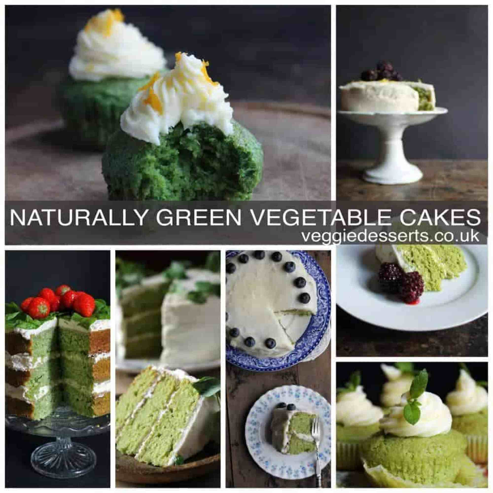 Naturally Green Vegetable Cakes | VeggieDesserts Blog