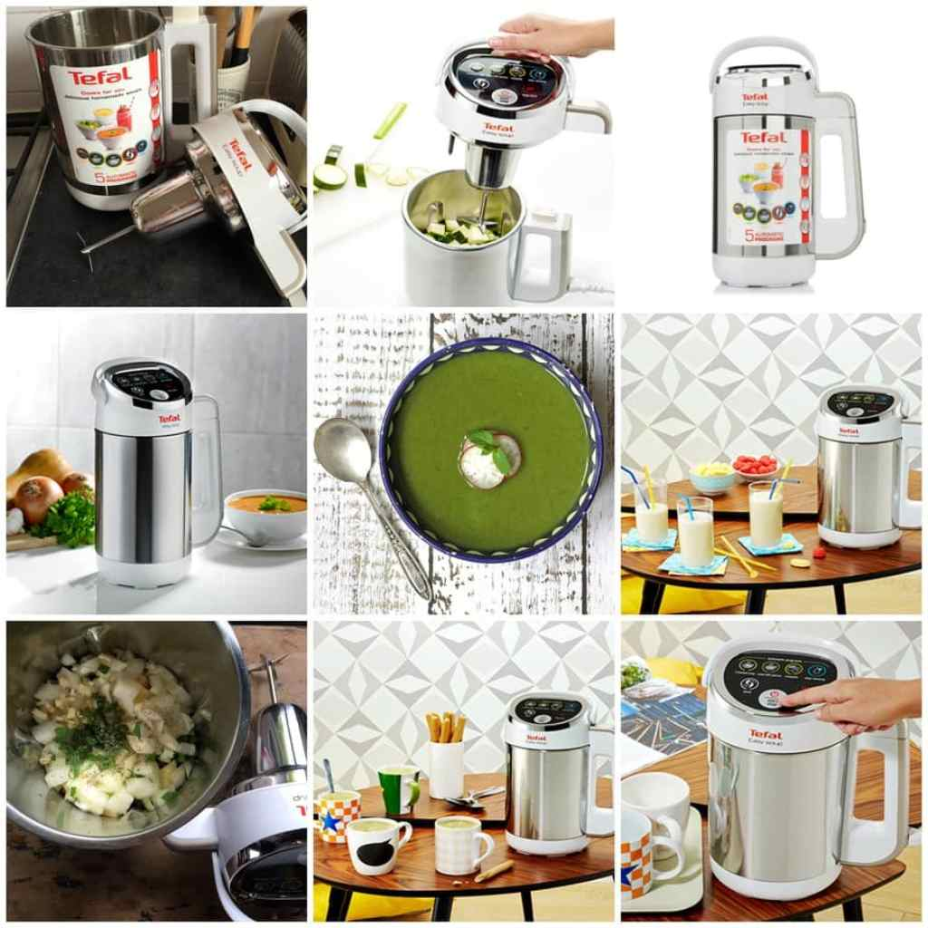Pea And Kale Soup With Mint Tefal Easy Soup Review