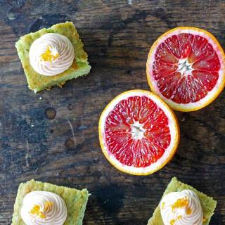 Kale Blood Orange Cake (with tested vegan alternatives) | Veggie Desserts Blog