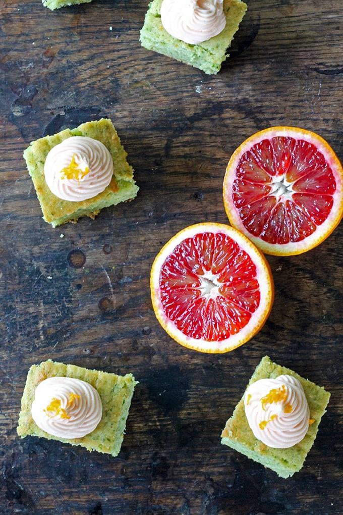 Kale and Blood Orange Cake (with tested vegan alternatives) | Veggie Desserts Blog