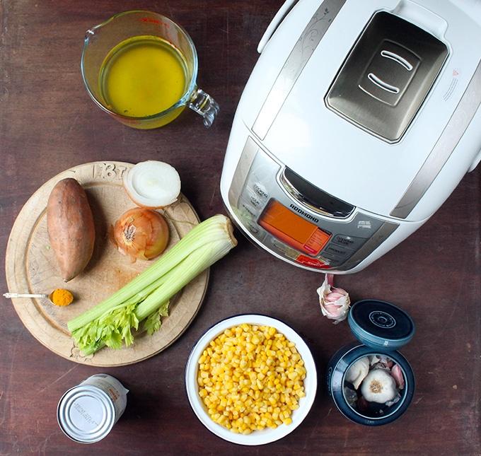 Vegan Corn Chowder   Veggie Desserts Blog