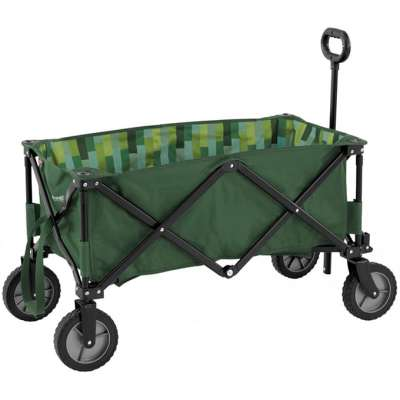 Outwell Transporter | Folding Festival Trolley | Family Camping Essentials | Veggie Desserts Blog