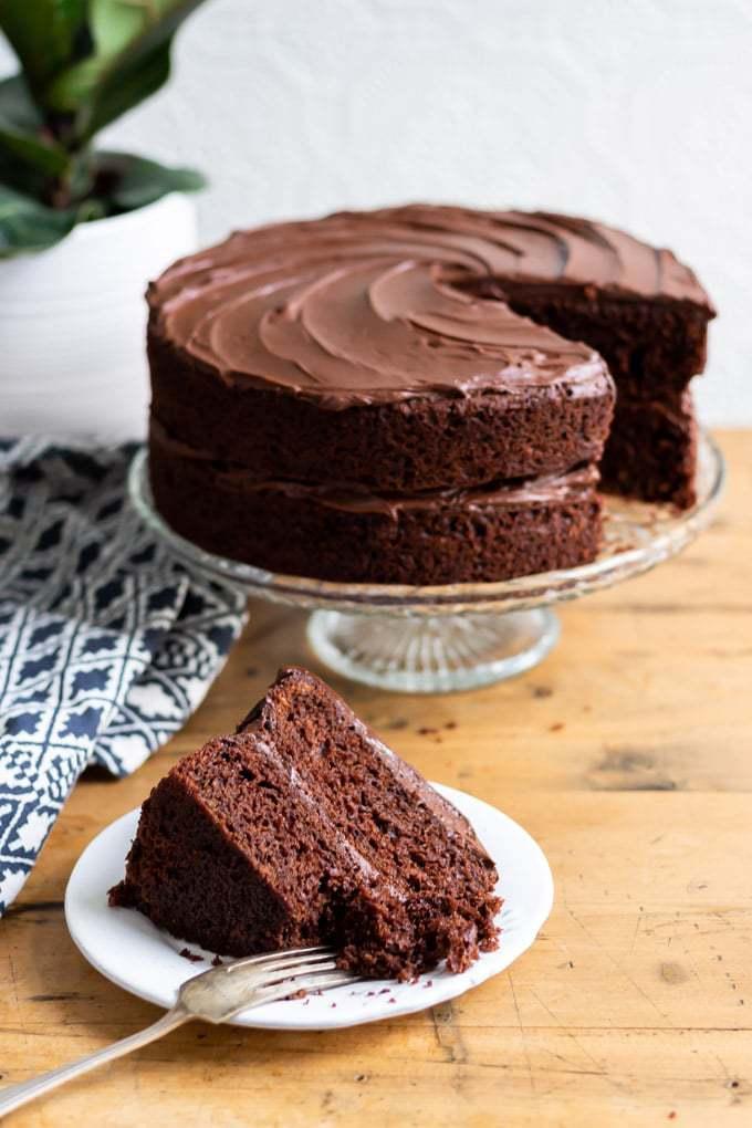 The Best Vegan Chocolate Cake 171 Veggie Desserts
