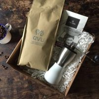 Win a Coffee Hamper with Beans, Grinder and Chocolate RRP£80