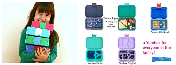 Enter to win 2 x YumBox lunch boxes worth £60