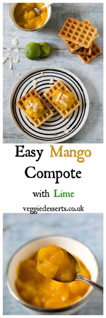 Easy Mango Compote Recipe | Veggie Desserts Blog
