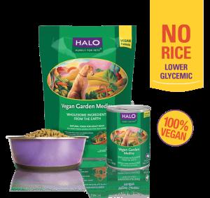 Halo garden of vegan dry dog food 4 lb vegan and vegetarian dog halo vegan garden medley stew 4 lb best vegetarian dog food 2017 reviews forumfinder Images