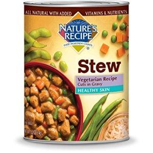 Vegetarian dog food archives vegan and vegetarian dog food reviews natures recipe healthy skin vegetarian canned dog food forumfinder Choice Image