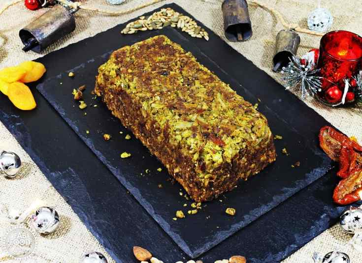 Nut Roast (vegan & gluten-free) perfect for Christmas