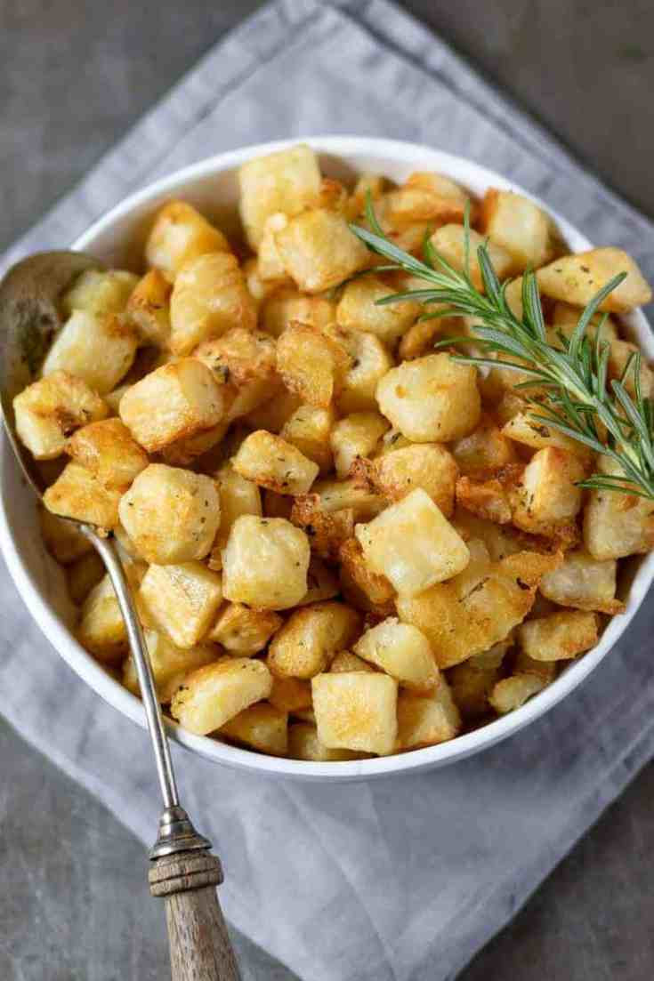Parmentier Potatoes with Rosemary and Garlic