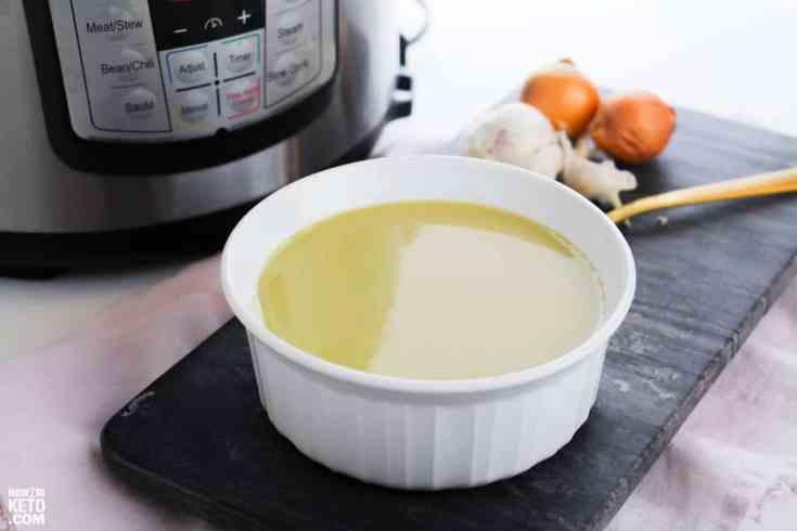 Keto Instant Pot Asparagus Soup