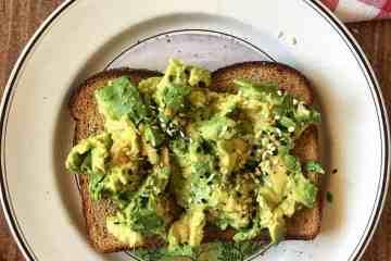 Avocado Toast with Seasonings