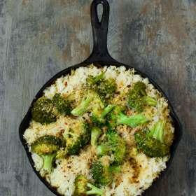 Easy Vegan Broccoli Cheese Casserole