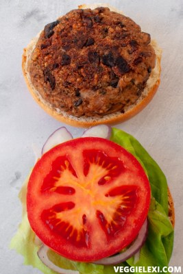 Mushroom and Oat Veggie Burgers, Vegan and Gluten Free