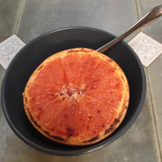 Grilled Ruby Grapefruit