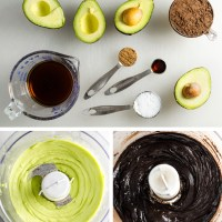 Dark Chocolate Avocado Frosting