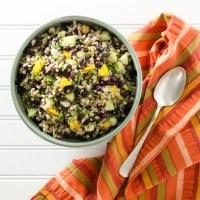 Black Bean Mango Buckwheat Salad