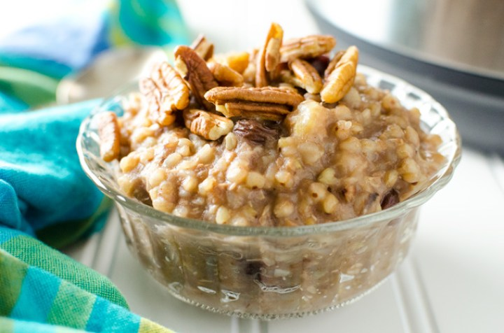 Ninja foodi Buckwheat Banana Porridge