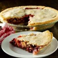 Perfect Gluten-Free Vegan Cherry Apple Pie