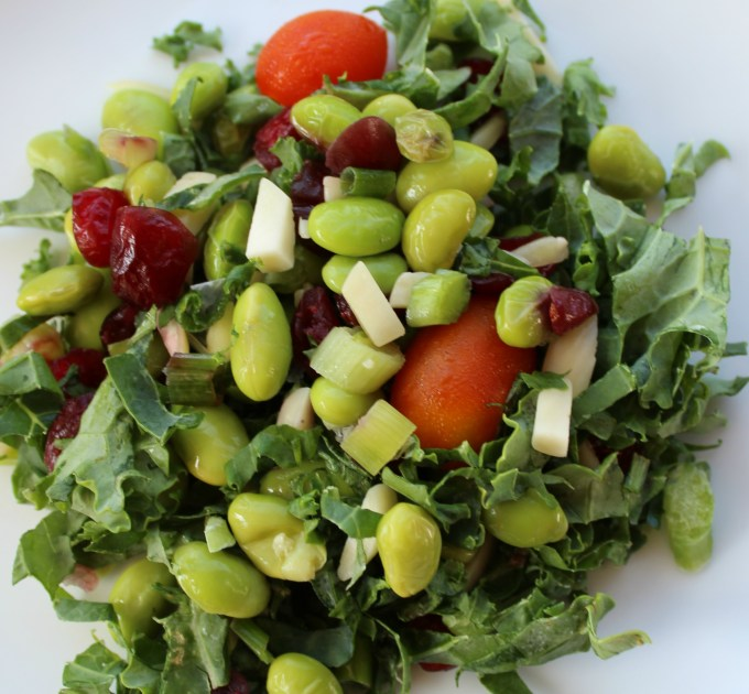 Summer salad is great for hot days. Crisp greens & cold fruit combine for a refreshing lunch or dinner side.