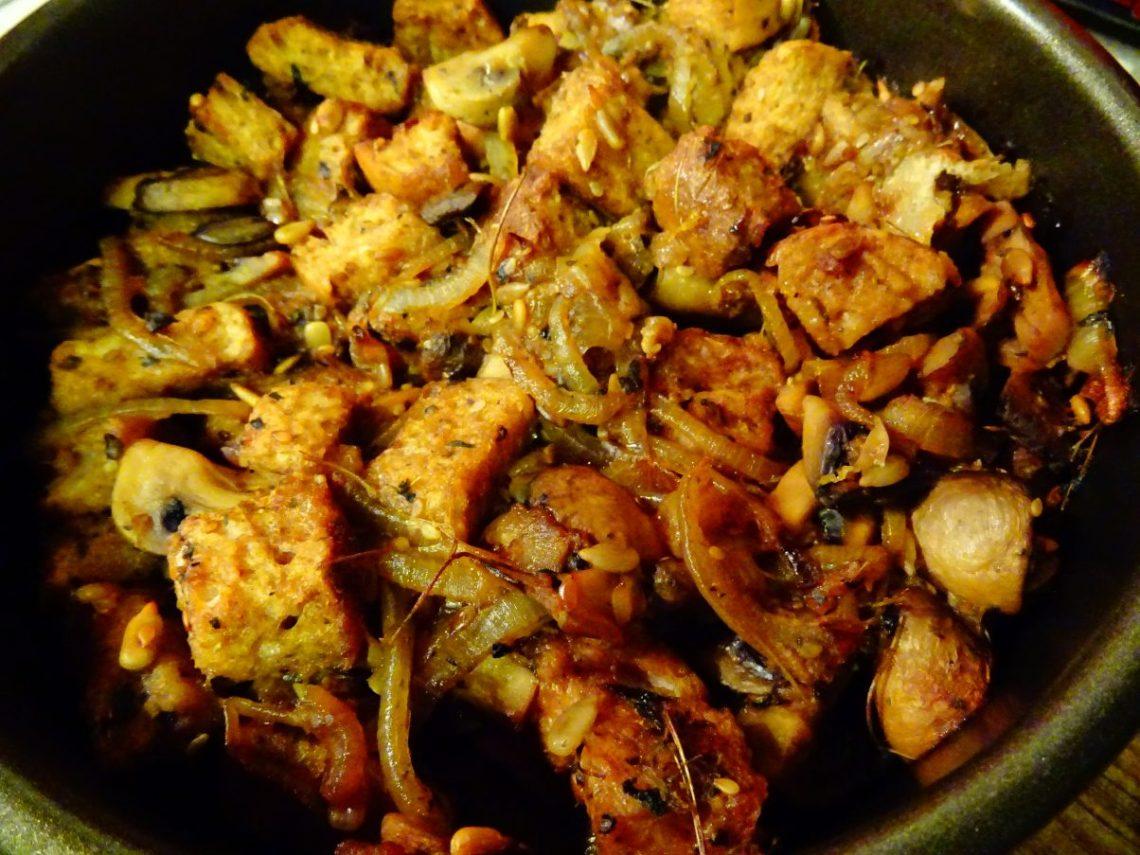 Vegan Chestnut & Mushroom Stuffing